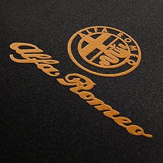 Fußmatten Alfa Romeo 916 Spider Anthrazit Autoteppiche Nadelfilz 4 1994-2005
