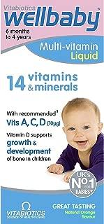 (4 PACK) - Vitabiotics Wellkid Baby & Infant | 150ml | 4 PACK - SUPER SAVER - SAVE MONEY