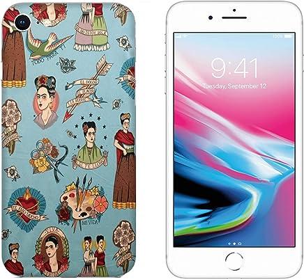 e9c54a6877f Funda iPhone 8 Carcasa Apple iPhone 8 fondos de pantalla patrón Un conjunto  de frida kahlo
