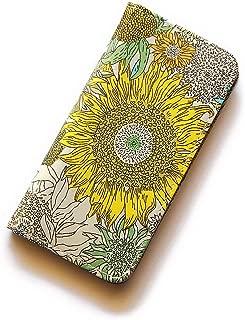 iPhone6sケース iPhone7ケース iPhone8ケース 手帳型 リバティ スモールスザンナ(イエロー)コーティング SHOKO MIYAMOTO かわいい おしゃれ マグネット無しでカード安全 スマホケース アイフォンケース Liberty…