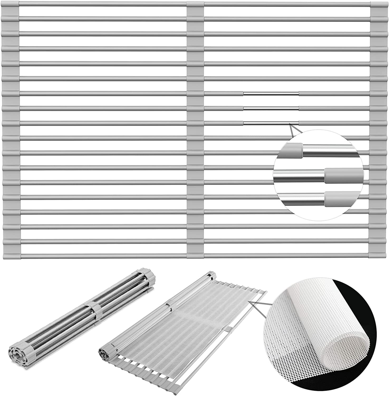 Rapid rise 【2021 NEWEST】Dish Drying Rack Extra Large 70% OFF Outlet 20.5''X13.8
