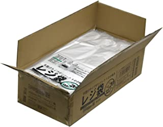 紺屋商事 レジ袋乳白東20西35号 2000枚入(100枚x20冊入)RAP00723120