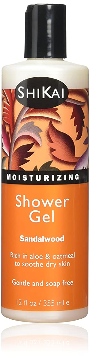 分離するばかげた証明Shikai Products Sandalwood & Amber Shower Gel 360 ml (並行輸入品)