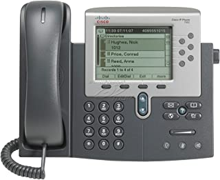 Cisco 7962G Unified IP Phone PoE - AC Power Supply Not Included (Renewed)