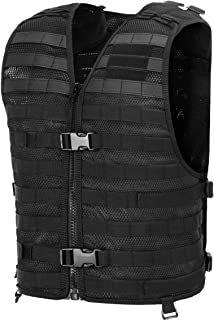 Chief Tac Military Tactical Molle Vest Mesh Light Army Airsoft Paintball Utility Vest, Breathable Lightweight Hunting Fishing Vest for Men