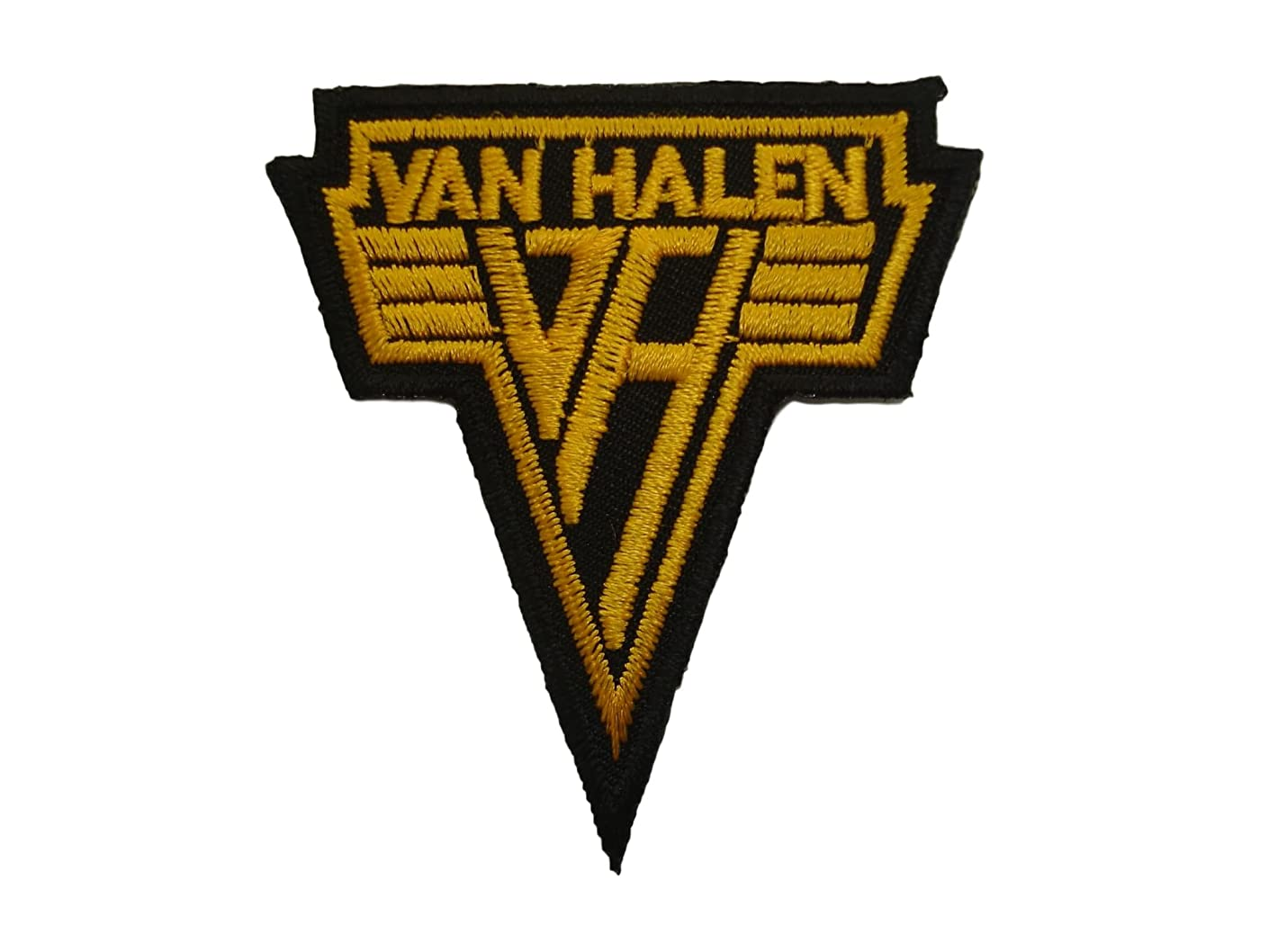 VAN HALEN Iron On Patch Applique Motif Rock Band Biker Decal 2.5 x 2.2 inches (6.5 x 5.8 cm)