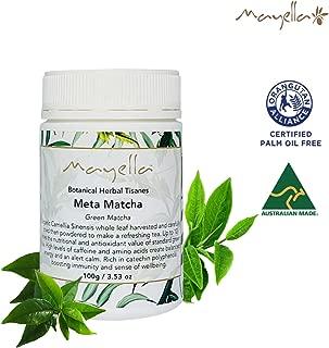 Mayella Organic Matcha Green Tea Powder   Matcha Tea Powder with Camillea Sinensis plant   Vegan, Organic and Gluten Free – 3.53 Oz