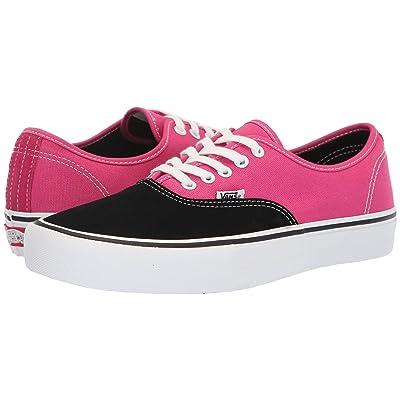 Vans Authentictm Pro (Black/Magenta) Skate Shoes