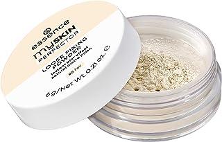 essence | My Skin Perfector Loose Fixing Powder | Instant Blur Effect & Natural Matte Finish | Vegan, Paraben Free, Gluten Free, Oil Free | Cruelty Free (05 | Fair)