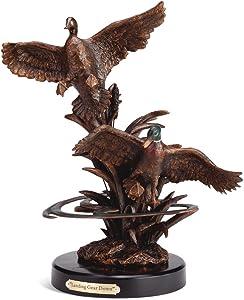 Big Sky Carvers Landing Gear Down Mallards Sculpture