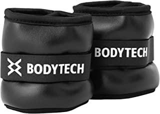 【Amazon限定ブランド】ボディテック(Bodytech) リストアンクルウェイト 2個セット 筋肉トレーニング ジョギング ウォーキング 負荷増幅 体力増強