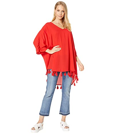 Show Me Your Mumu Shook Tassel Tunic (Bonfire) Women