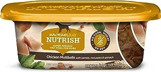 Rachael Ray Nutrish Natural Chicken Muttballs with Pasta Wet Dog Food