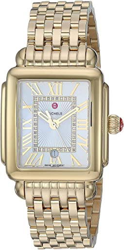 Gold Plated/Silver/White Sunray Dial