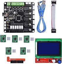 Kfb3.0 3D Control Board +LCD 12864 Module Display Monitor Motherboard + A4988 Stepstick Stepper Motor Driver Module for Reprap