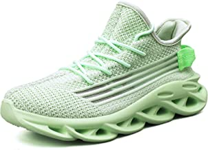 AUTPER Womens Walking Tennis Shoes Comfortable Elasticity Sole Non Slip Breathable Running Sneakers US 5.5-10