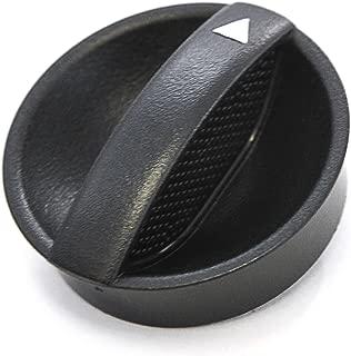 Control Knob Fan Heater 2005-2011 Compatible with Toyota Tacoma Temperature HVAC Black (Orange Indicator)