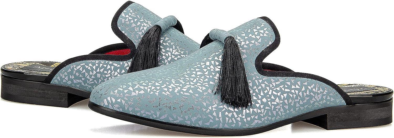 Meijiana Men Backless Attention brand Loafers Open Industry No. 1 Fashion Back