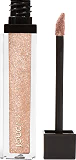 Jouer Long-Wear Lip Topper, Metallic Shimmering Golden Nude/Skinny Dip, 0.21 fl oz