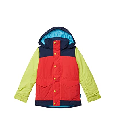 Burton Kids Elstar Parka Jacket (Little Kids/Big Kids) (Hibiscus/Limade) Girl
