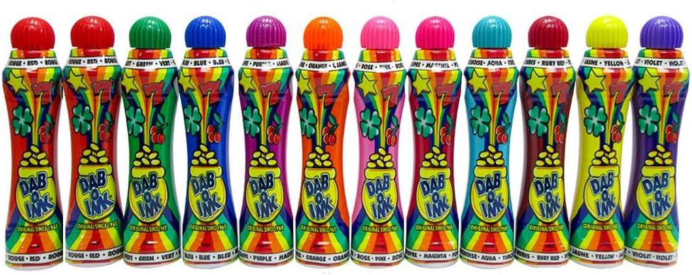 Dab-O-Ink Bingo Daubers Manufacturer regenerated product Bulk Philadelphia Mall Case 12 Assor - 144 Dozen