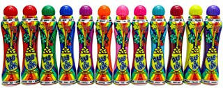 Dab-O-Ink Bingo Daubers Bulk Case - 144 Daubers (12 Dozen) Assorted Colors - 3 oz