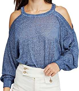 Free People Chill Out Cold Shoulder Top
