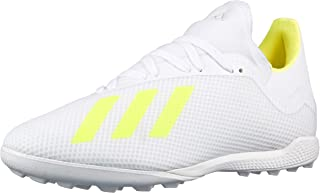 Adidas X 18.3 TF Men's Shoes, White (Solar Yellow/Ftwr White), 9.5 UK (44 EU),BB9400