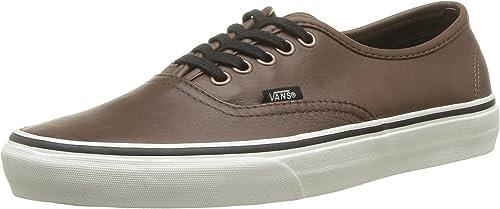 Vans U Authentic (Aged Leather), Hauszapatos Unisex