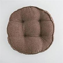 Home Acolchoado de Assento Redondo Colorido, 100% Algodão Confortável Jardim Cozinha Jantar Cadeira Almofada Gravata em Vá...