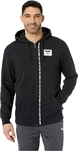 Rebel Block Full Zip Hoodie Fleece