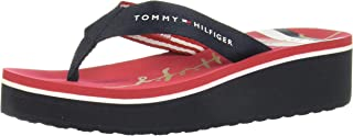 Tommy Hilfiger SIGNATURE STRIPE HIGH FLIP FLOP Women's Flip-Flop