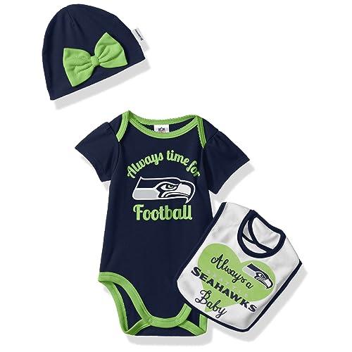 designer fashion 0ac44 4652e Seahawks Baby Clothes: Amazon.com