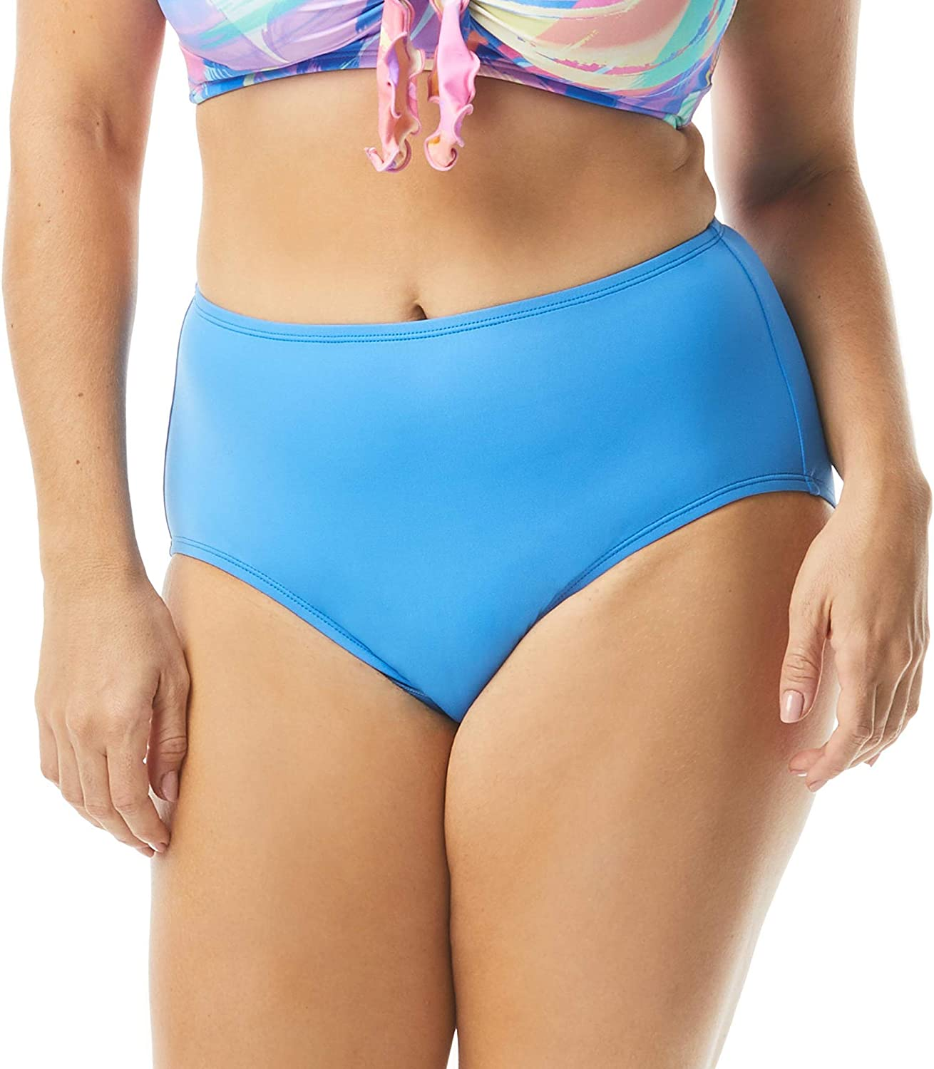 Max 43% OFF High Waisted Chloe Bikini Bottom Full Modest Sw Animer and price revision Coverage —