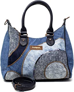 Luxury Fashion | Desigual Womens 19WAXD08BLUE Blue Handbag | Fall Winter 19