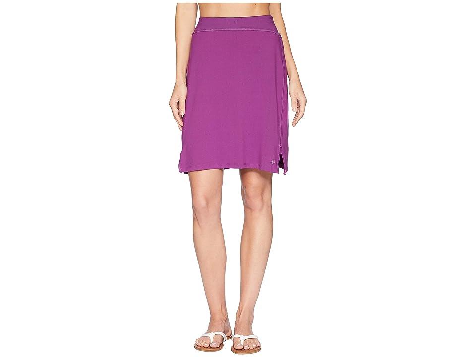 Skirt Sports Happy High Waist Skirt (Grape) Women