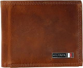 Men's Leather Edisto RFID Slim Bifold Wallet, Tan