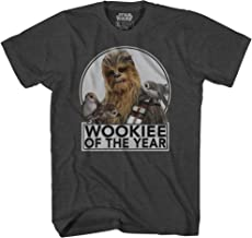 Star Wars Chewbacca Wookie of The Year Porgs T-Shirt