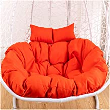 Garden Furniture Rocking Chair Cushion Chair Cushion with Ties, for Outdoor Patio, Double Hanging Egg Hammock Chair Pads, ...