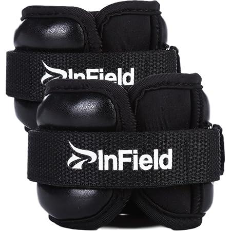 InField アンクルウェイト リストウェイト 筋トレ ウォーキング ダイエット エクササイズ 体幹トレーニング 0.5/1/1.5/2/3kg パワーアンクル リストバンド