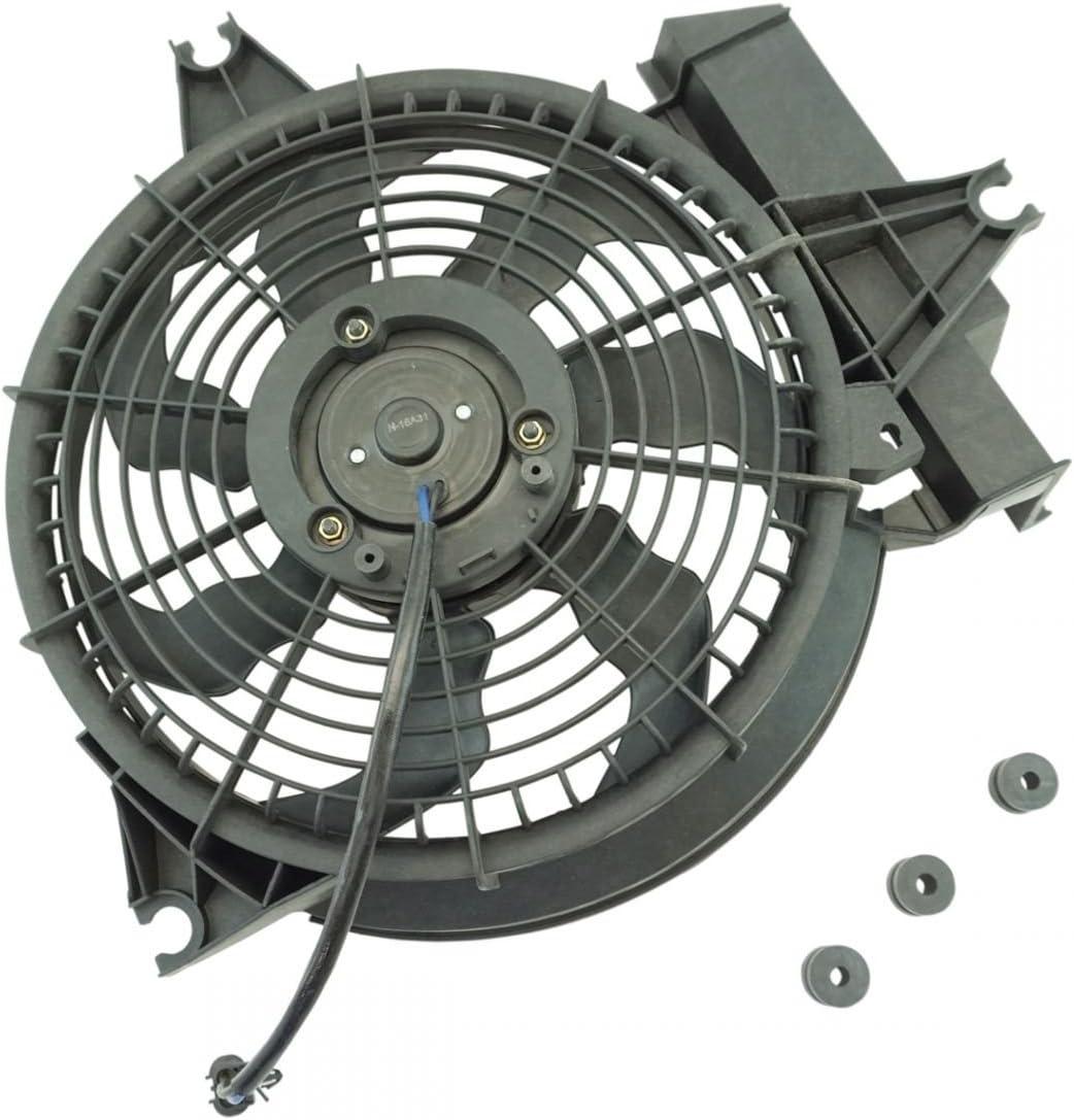 A C AC Condenser Cooling Animer and price revision Albuquerque Mall Radiator 01-02 for Hyundai Santa Fan Fe