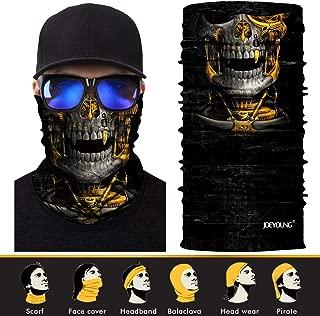 3D Face Sun Mask, Neck Gaiter, Headwear, Magic Scarf, Balaclava, Bandana, Headband Fishing, Hunting, Yard Work, Running, Motorcycling, UV Protection, Great Men & Women