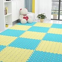 Guorrui, puzzelmat van schuim, vloermat 1,2 cm dik, tapijt voor kinderkamer, antislip, kan naar wens worden gesneden, veel...