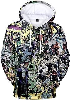 JoJo's Bizarre Adventure Long Sleeve Sweatshirt Winter Men Women Kujo Jotaro 3D Print Anime Hoodies Hip Hop Top Pullover