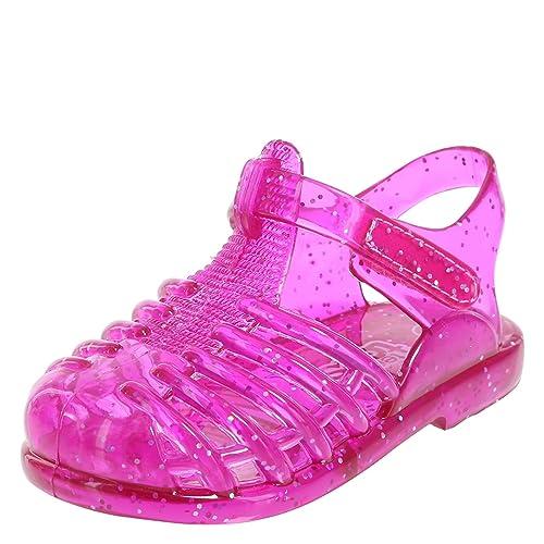 d2688424d4e Teeny Toes Girls  Infant Fisherman Jelly Sandal