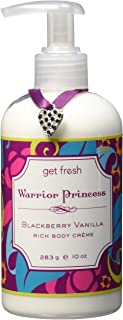 Get Fresh Warrior Princess Rich Body Crème, BlackBerry Vanilla