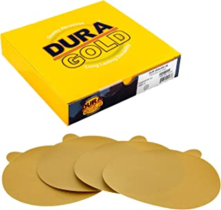 "Dura-Gold – Premium – 320 Grit 6"" Gold PSA Self Adhesive Stickyback.."