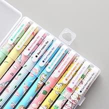 10 Pcs Unicorn Flamingo Gel Pens Set,Fine Point (0.5mm), 10 Ink Color,Best Unicorn Gifts for Girls