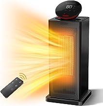 AUZKIN Chauffage d'appoint Radiateur Soufflant Chauffage Électrique 2000W, Chauffage Soufflant avec Thermostat ECO, Affich...