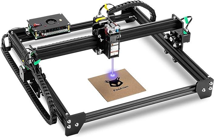 Amazon.com: LE-4040 PRO Desktop Laser Engraver 20W Fixed-Focus Class 4,  40x40cm CNC Laser Engraving Machine Wood Cutter Carving for Acrylic Leather  MDF EVA Foam Vinyl GRBL Control